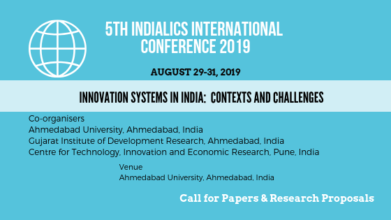 5th IndiaLICS International Conference 2019