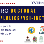 Foro Doctoral ALTEC/LALICS/YSI-INET 2019