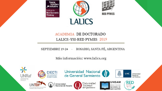 Academia LALICS/YSI-INET/Red Pymes 2019