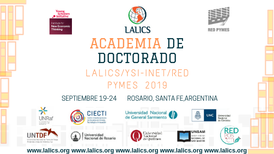 PROGRAMA: II Academia de Doctorado LALICS/YSI- INET/Red Pymes 2019