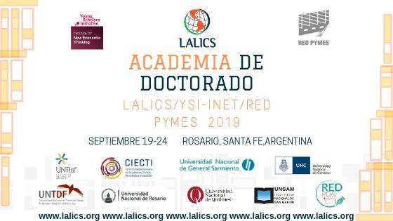 Academia de Doctorado LALICS/YSI-INET/Red Pymes 2019