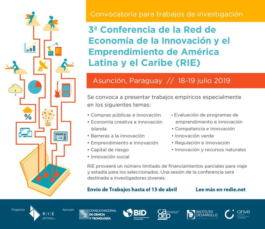 3era Conferencia Red de Economía de la Innovación y el Emprendimiento de América Latina y el Caribe