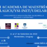I Academia de Maestría LALICS/YSI- INET/UdelaR
