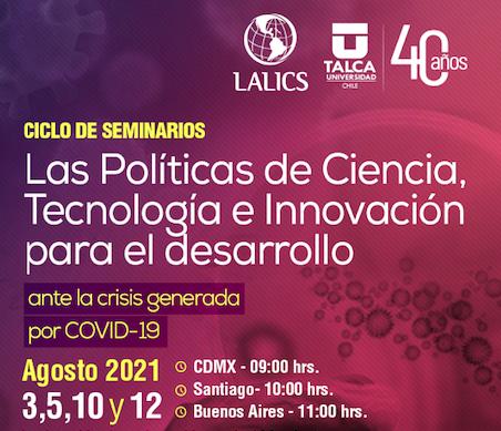 Ciclo de Seminarios. Las Políticas de CTI para el desarrollo ante la crisis generada por COVID-19