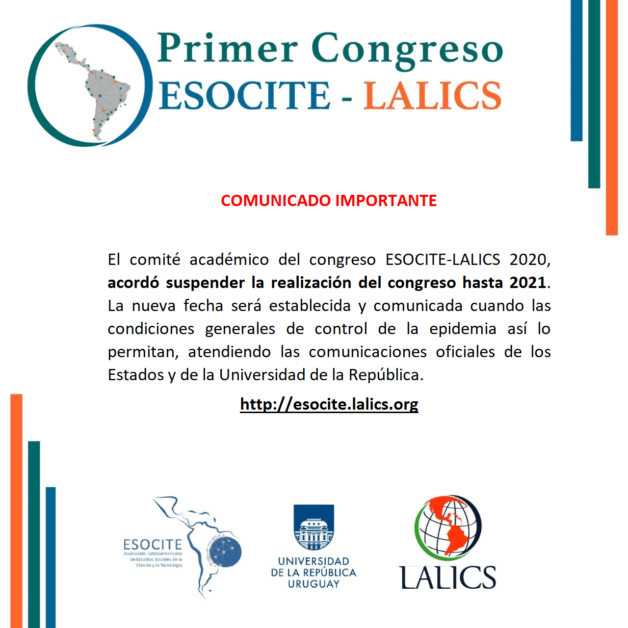 Primer Congreso ESOCITE-LALICS