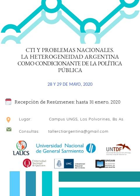 Flyer taller politica CTI
