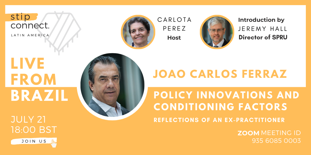21/07/2020 – Joao Carlos Ferraz – Policy innovation and conditioning factors