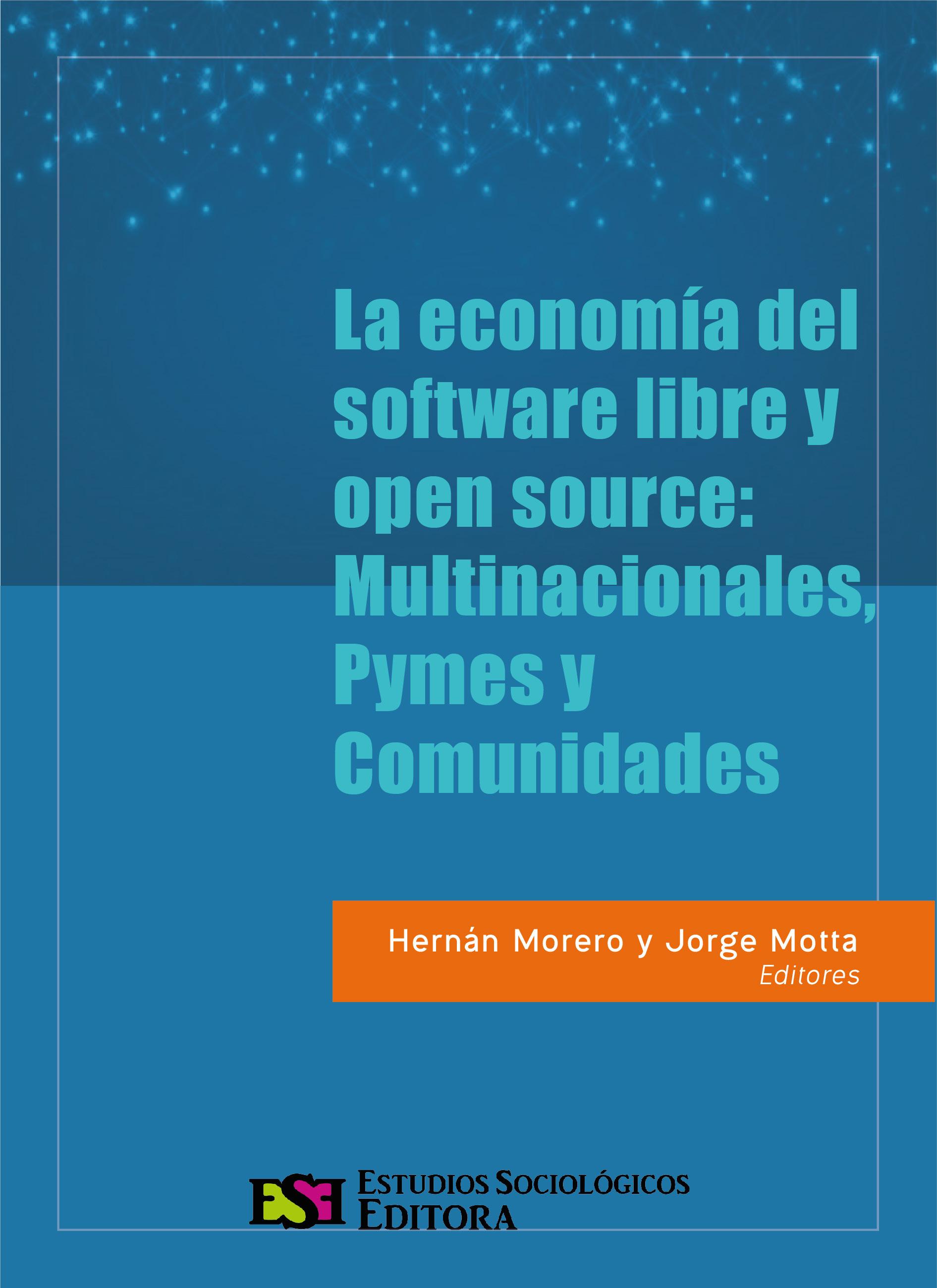 Morero y Motta - Libro Economía del FLOSS