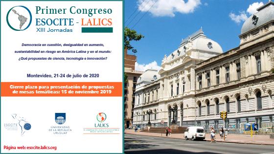 PRIMER CONGRESO ESOCITE – LALICS